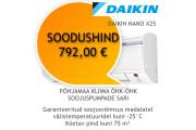 Õhk-õhk soojuspump Daikin Nano X FTXL25JV/RXL25M3