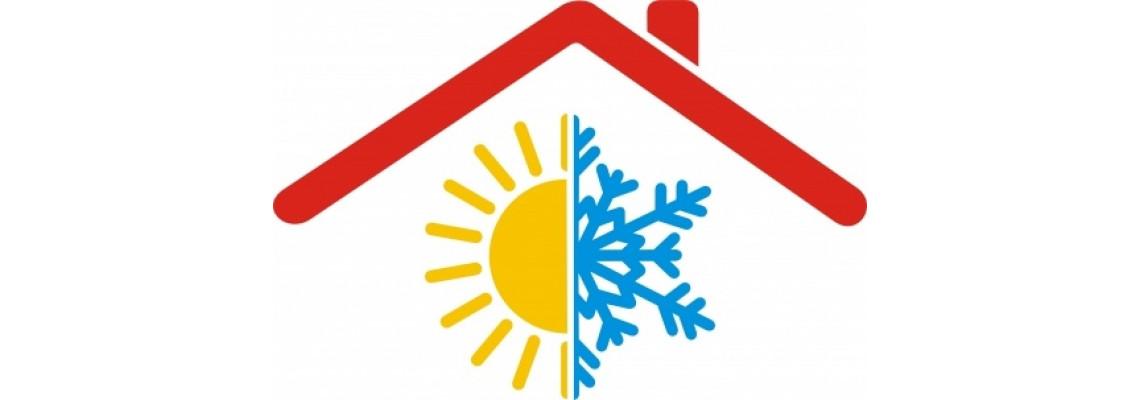Kliimaseadmete-soojuspumpade ja ventilatsiooni  paigaldus